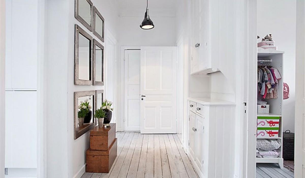 Monika Štiklica Studio » Stan u beloj, crnoj i sivoj boji