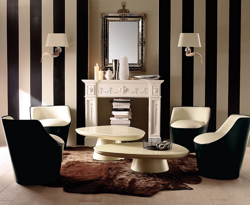 combining-a-traditional-design-style-with-trendy-additions-like-vertical-black-and-white-stripes